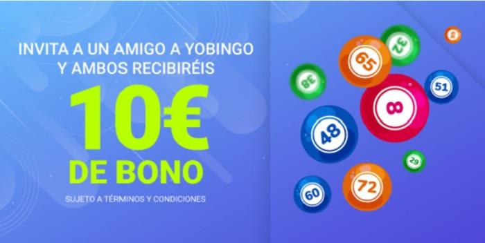 Invita a tus amigos - promociones bingo online