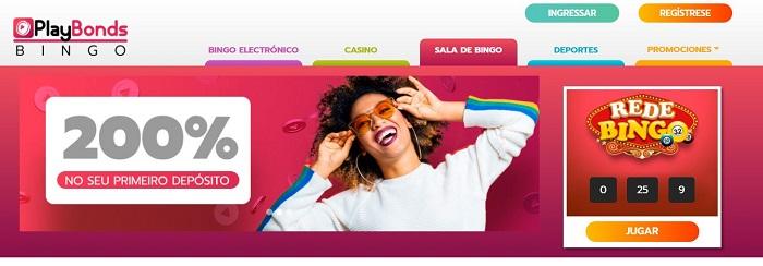 Bingo Online de Playbonds