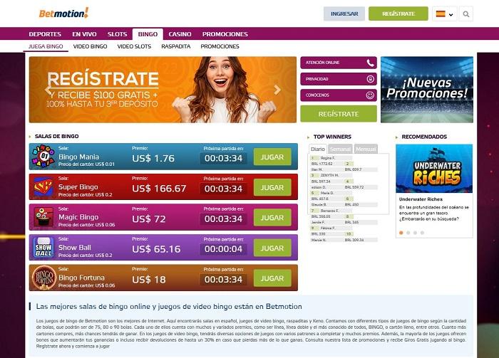 Bingo Online Perú Betmotion