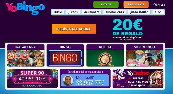YoBingo Bingo Online España
