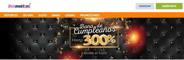bono de cumpleaños bingo online