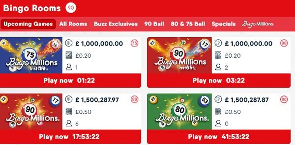 buzz bingo online