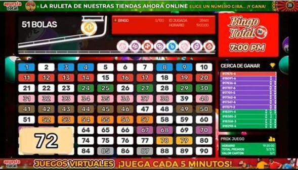 bingo online en Perú