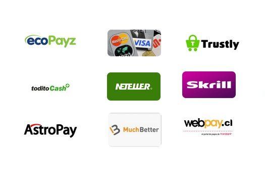 medios de pago bingo online
