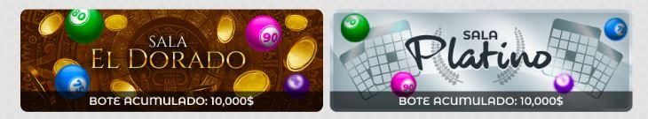 Salas de Bingo en línea en VeoWin