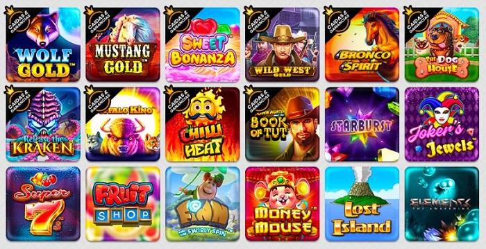 Juegos de casino VeoWin