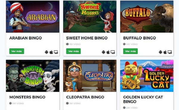 maga games video bingo
