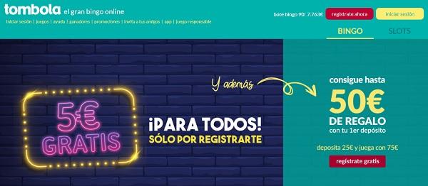 tombola bingo online españa